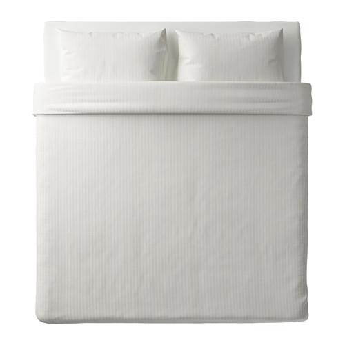 NATTJASMIN - quilt cover and 2 pillowcases, white, 240x220/50x80 cm  | IKEA Hong Kong and Macau - PE619045_S4