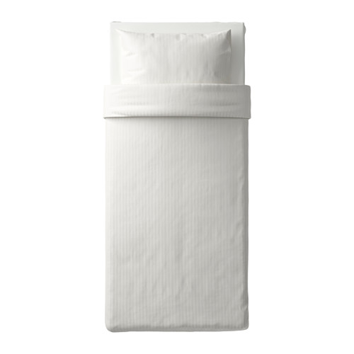 NATTJASMIN - 被套枕袋套裝, 白色, 150x200/50x80 cm  | IKEA 香港及澳門 - PE619046_S4