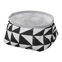 LURVIG - 寵物碗, 白色/黑色 | IKEA 香港及澳門 - PE759659_S3