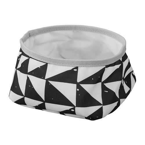 LURVIG - 寵物碗, 白色/黑色   IKEA 香港及澳門 - PE759659_S4