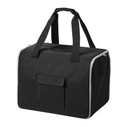 LURVIG - 寵物旅行袋, 黑色/灰色 | IKEA 香港及澳門 - PE759665_S3