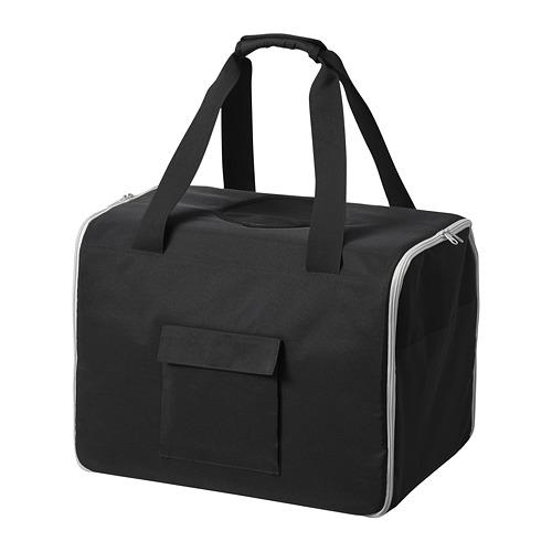 LURVIG - 寵物旅行袋, 黑色/灰色   IKEA 香港及澳門 - PE759665_S4