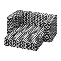 LURVIG - 貓/狗床布套, 黑色/白色 | IKEA 香港及澳門 - PE759667_S3