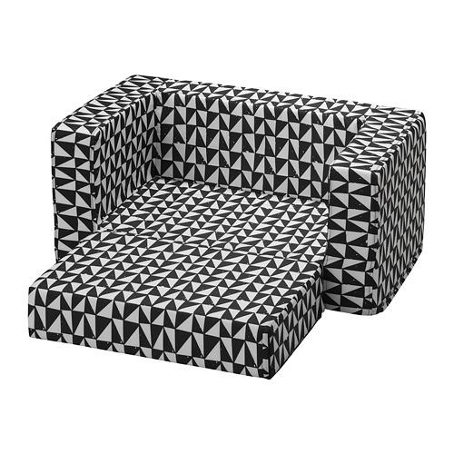 LURVIG - 貓/狗床布套, 黑色/白色 | IKEA 香港及澳門 - PE759667_S4