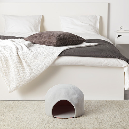 LURVIG - 圓頂貓屋, 淺灰色/粉紅色 | IKEA 香港及澳門 - PE759677_S4