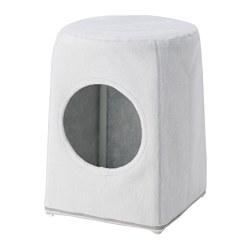 LURVIG - 椅凳用貓屋, 淺灰色 | IKEA 香港及澳門 - PE759678_S3