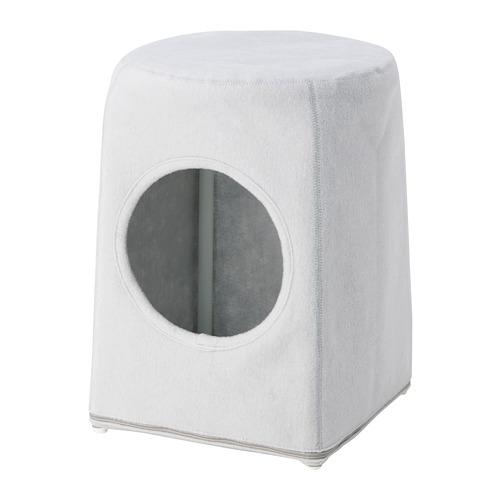 LURVIG - 椅凳用貓屋, 淺灰色 | IKEA 香港及澳門 - PE759678_S4