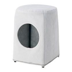 LURVIG - 貓屋連凳, 淺灰色/黑色 | IKEA 香港及澳門 - PE759679_S3