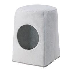 LURVIG - 貓屋連凳, 淺灰色/白色 | IKEA 香港及澳門 - PE759681_S3