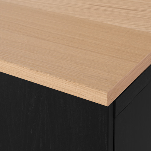 BESTÅ - 貯物組合連抽屜, black-brown/Lappviken/Stubbarp black-brown | IKEA 香港及澳門 - PE814689_S4