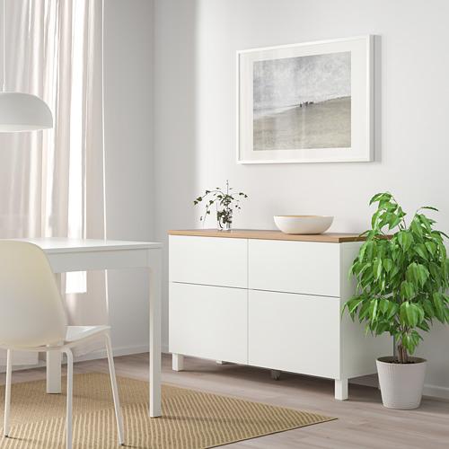 BESTÅ - 貯物組合連門/抽屜, white/Lappviken/Stubbarp white | IKEA 香港及澳門 - PE814691_S4