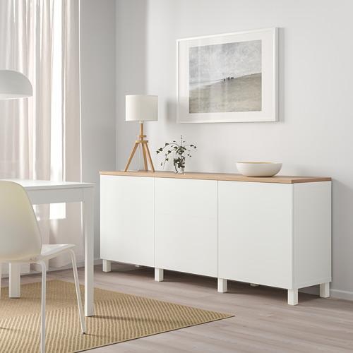 BESTÅ - storage combination with doors, white/Lappviken/Stubbarp white   IKEA Hong Kong and Macau - PE814816_S4