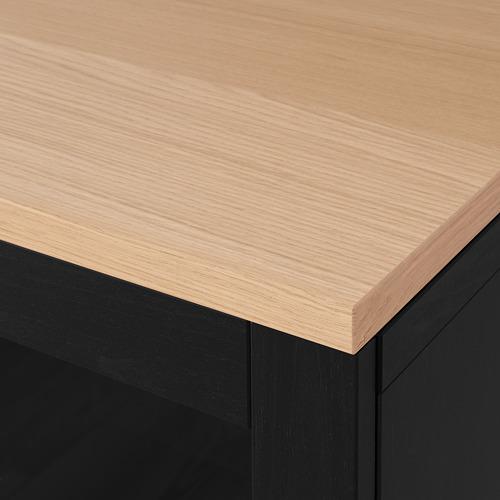 BESTÅ - 貯物組合連抽屜, Sindvik black/Lappviken/Stubbarp black-brown | IKEA 香港及澳門 - PE814705_S4