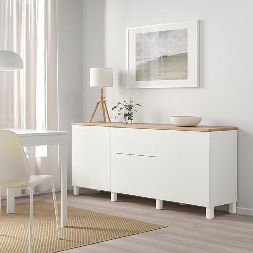 BESTÅ - 貯物組合連抽屜, white/Lappviken/Stubbarp white   IKEA 香港及澳門 - PE814706_S4
