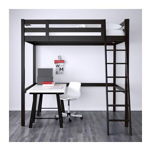 STORÅ - loft bed frame, black | IKEA Hong Kong and Macau - PE554889_S4