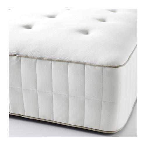 HOKKÅSEN 特大雙人獨立袋裝彈簧床褥, 特級承托
