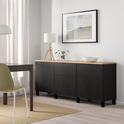 BESTÅ - 貯物組合連抽屜, black-brown/Lappviken/Stubbarp black-brown | IKEA 香港及澳門 - PE814708_S4