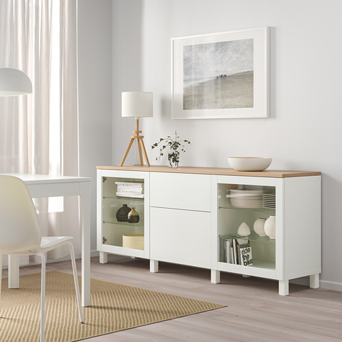 BESTÅ - 貯物組合連抽屜, Sindvik white/Lappviken/Stubbarp white | IKEA 香港及澳門 - PE814715_S4