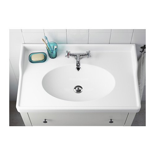 RÄTTVIKEN - 單盆洗手盆, 白色   IKEA 香港及澳門 - PE554974_S4