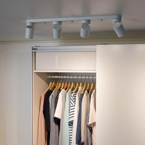 NYMÅNE - 四頭天花射燈, 白色 | IKEA 香港及澳門 - PE648821_S4