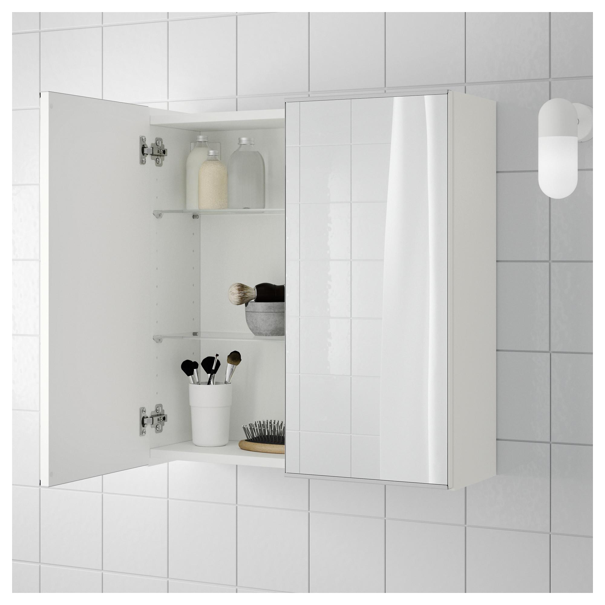 Lillangen Mirror Cabinet With 2 Doors White Ikea Hong Kong