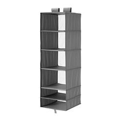 SKUBB - storage with 6 compartments, 35x45x125 cm, dark grey | IKEA Hong Kong and Macau - PE670084_S3