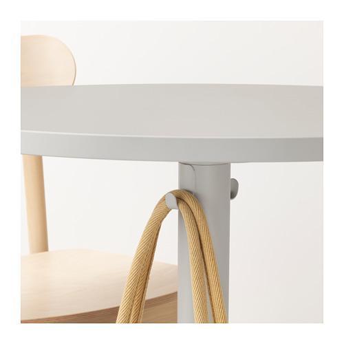 RÖNNINGE/STENSELE - table and 2 chairs, light grey/light grey green | IKEA Hong Kong and Macau - PE719789_S4