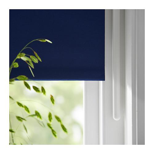 FRIDANS - block-out roller blind, 100x195cm, blue | IKEA Hong Kong and Macau - PE719797_S4