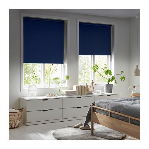 FRIDANS - block-out roller blind, 100x195cm, blue | IKEA Hong Kong and Macau - PE719796_S4