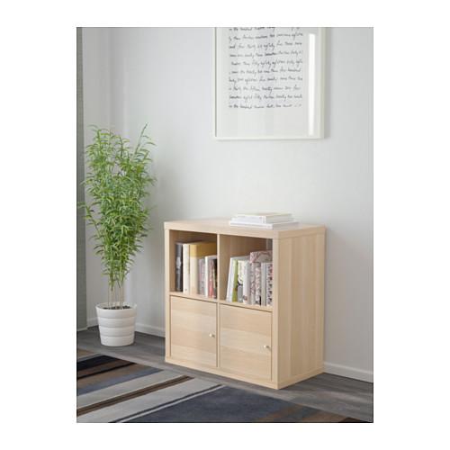 KALLAX - 層架組合連門, 染白橡木紋 | IKEA 香港及澳門 - PE618832_S4