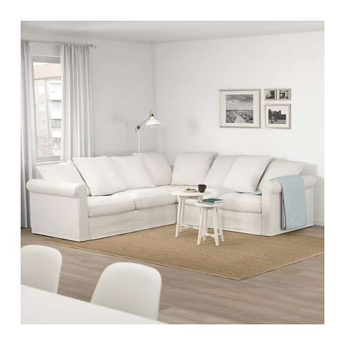GRÖNLID - 四座位角位梳化, Inseros 白色   IKEA 香港及澳門 - PE674948_S4