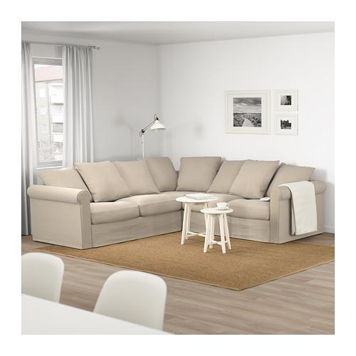 GRÖNLID - 四座位角位梳化, Sporda 原色   IKEA 香港及澳門 - PE674961_S4