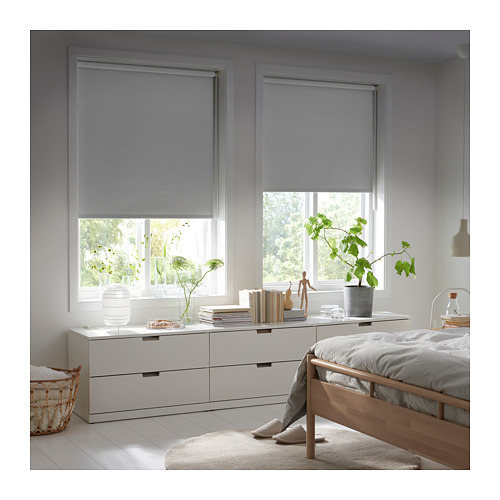 FRIDANS - block-out roller blind, 120x195cm, grey | IKEA Hong Kong and Macau - PE719805_S4
