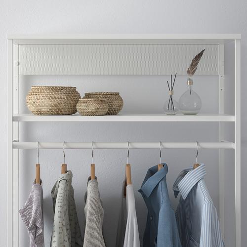 PLATSA - open clothes hanging unit, white | IKEA Hong Kong and Macau - PE759911_S4