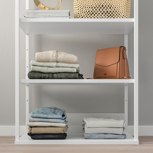 PLATSA - 開放式層架組合, 白色 | IKEA 香港及澳門 - PE759913_S4