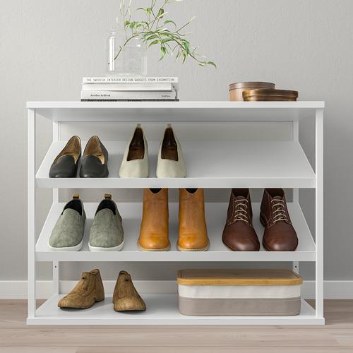 PLATSA - open shoe storage unit, white | IKEA Hong Kong and Macau - PE759918_S4