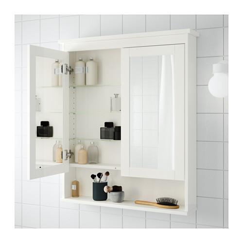 HEMNES - 雙門鏡櫃, 白色   IKEA 香港及澳門 - PE555272_S4