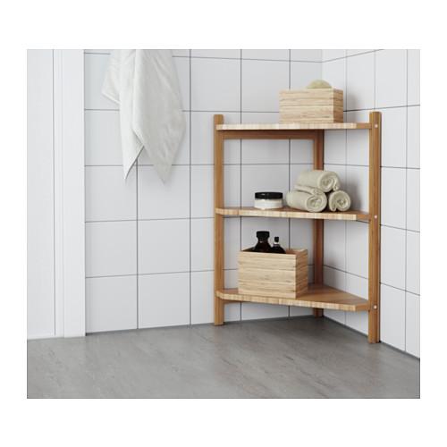 RÅGRUND - 洗手盆/角位層板, 竹   IKEA 香港及澳門 - PE555295_S4