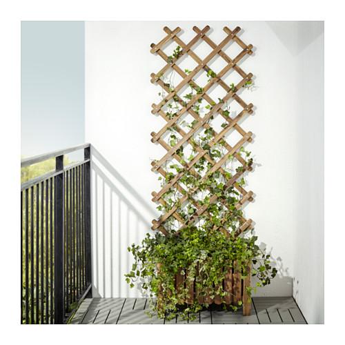 ASKHOLMEN - trellis, light brown stained | IKEA Hong Kong and Macau - PE618904_S4