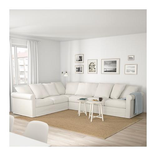GRÖNLID - 五座位角位梳化, Inseros 白色 | IKEA 香港及澳門 - PE675025_S4
