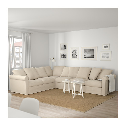 GRÖNLID - 五座位角位梳化, Sporda 原色 | IKEA 香港及澳門 - PE675028_S4