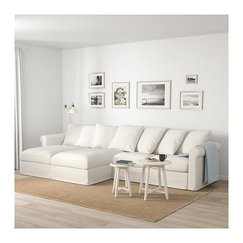 GRÖNLID - 4-seat sofa, with chaise longues/Inseros white | IKEA Hong Kong and Macau - PE675049_S4
