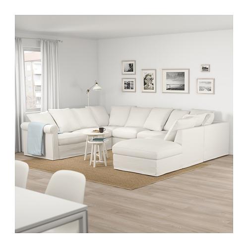 GRÖNLID - u-shaped sofa, 6 seat, with open end/Inseros white | IKEA Hong Kong and Macau - PE675045_S4
