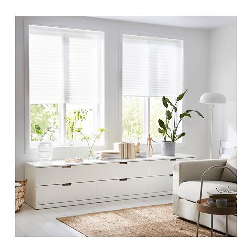 SCHOTTIS - 褶簾, 90x190cm, 白色 | IKEA 香港及澳門 - PE719822_S4