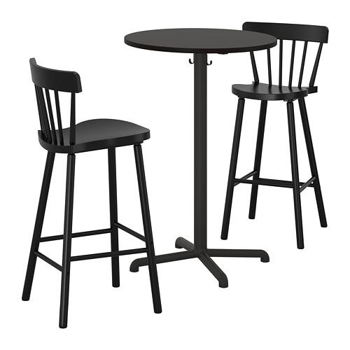 STENSELE/NORRARYD 吧檯連2張高腳凳