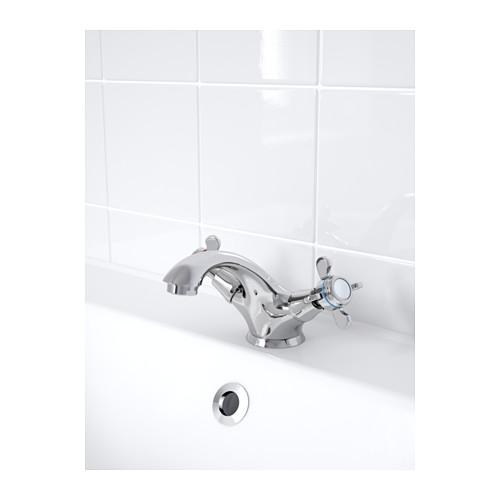 RUNSKÄR 浴室冷熱水龍頭連過濾器