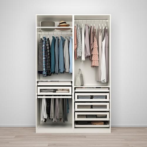 PAX - wardrobe combination, white | IKEA Hong Kong and Macau - PE759954_S4