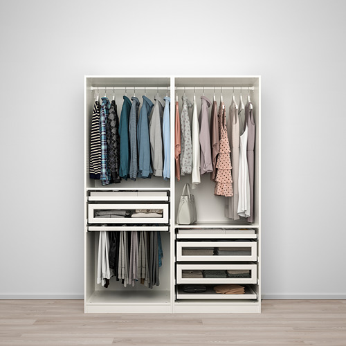 PAX - wardrobe combination, white | IKEA Hong Kong and Macau - PE759957_S4