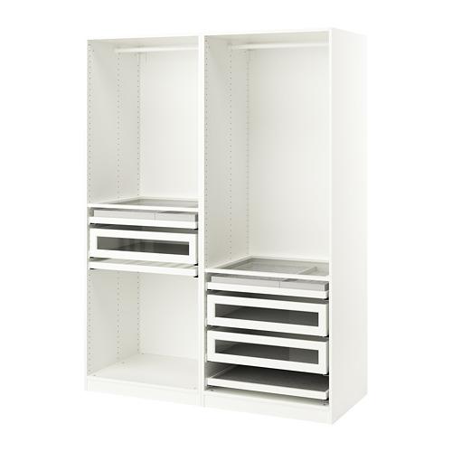 PAX - wardrobe combination, white | IKEA Hong Kong and Macau - PE759955_S4