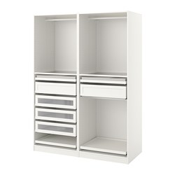 PAX - Wardrobe combination, white, 150x58x201.2cm | IKEA Hong Kong and Macau - PE759998_S3